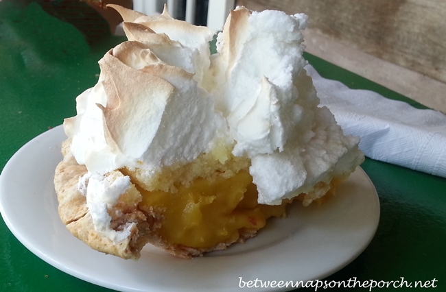 Lemon Meringue Pie at Greenwood's on Green Street Restaurant