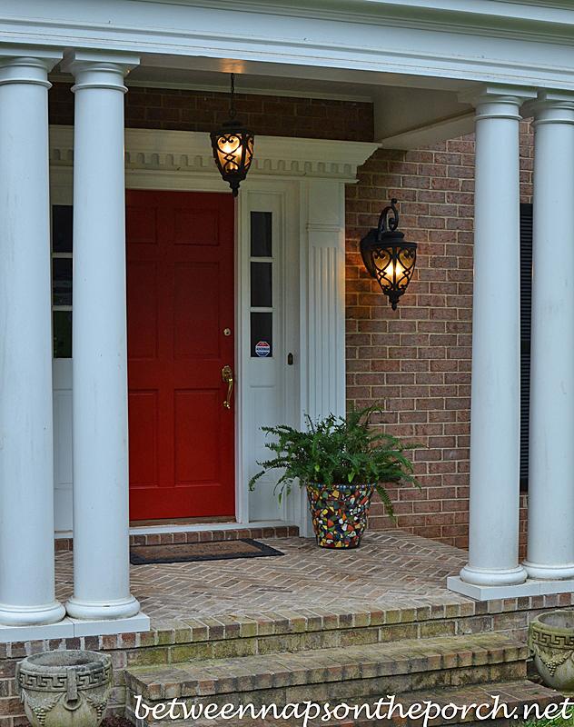 paint your front door red