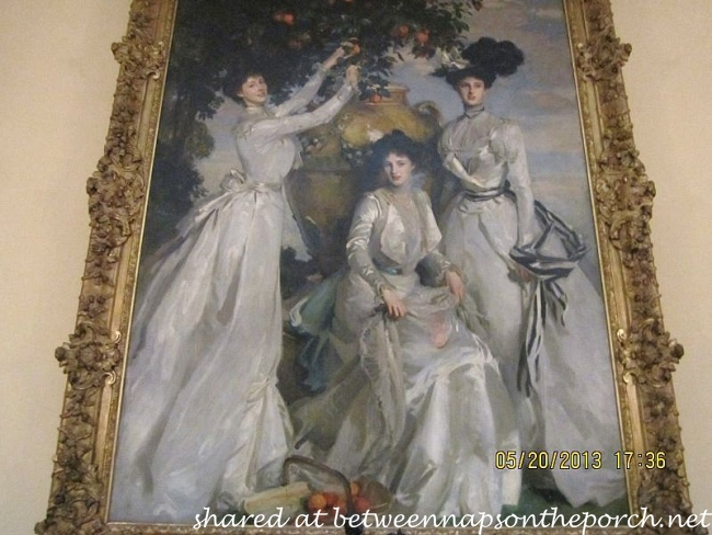 Painting in Chatsworth House