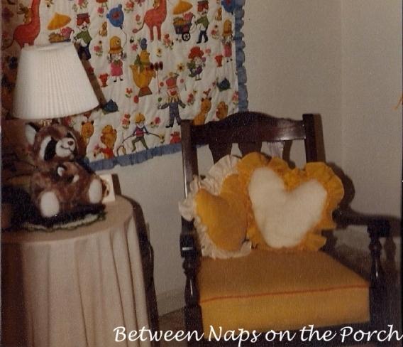 Rocking Chair in Nursery