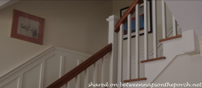 Staircase in movie, The Big Wedding