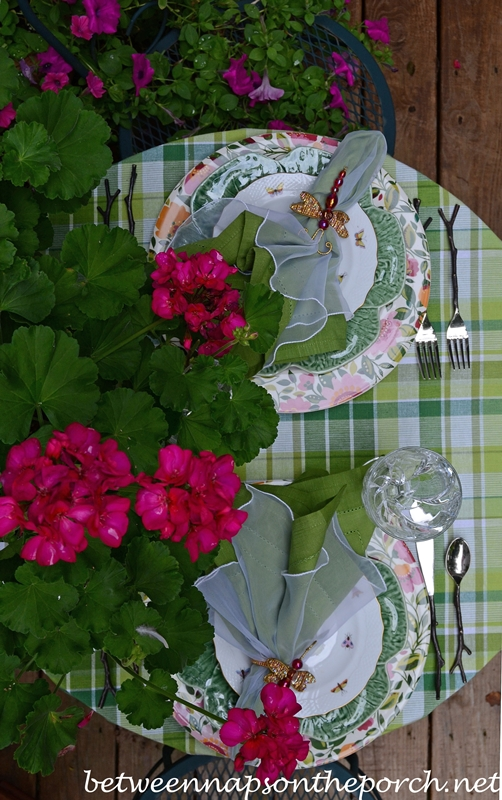 Summer Dining on the Deck