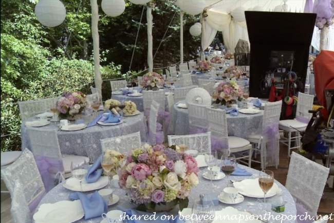 Tables and Chairs for Wedding in The Big Wedding movie_wm