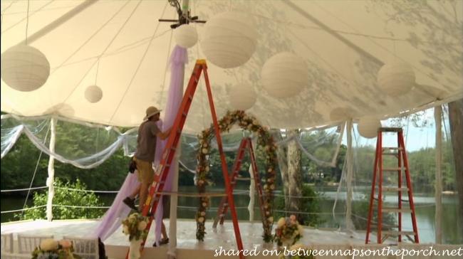 Tent in movie, The Big Wedding_wm
