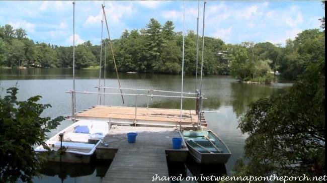 The Big Wedding Dock and Lake