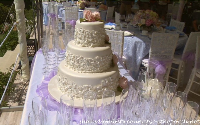 Wedding Cake in The Big Wedding Movie