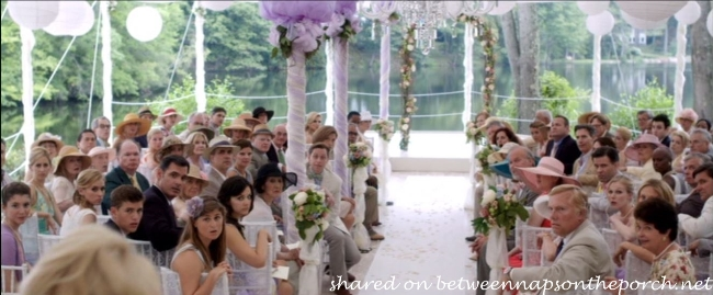 Wedding Tent in the Movie The Big Wedding