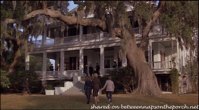 Antebellum House in the Movie, The Big Chill 2_wm