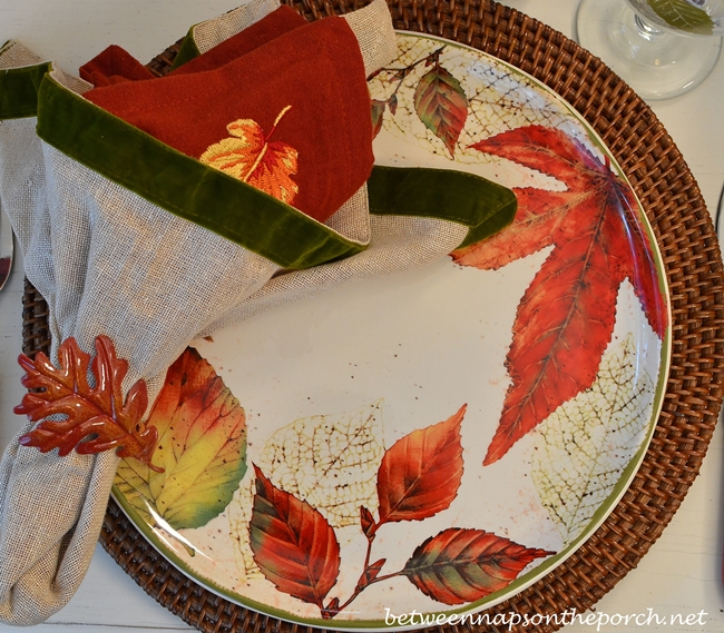 Autumn Leaf Dishware