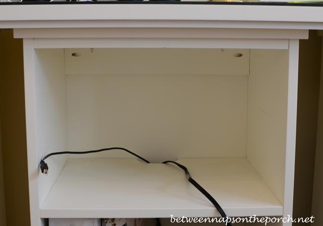Bedford Open Cabinet