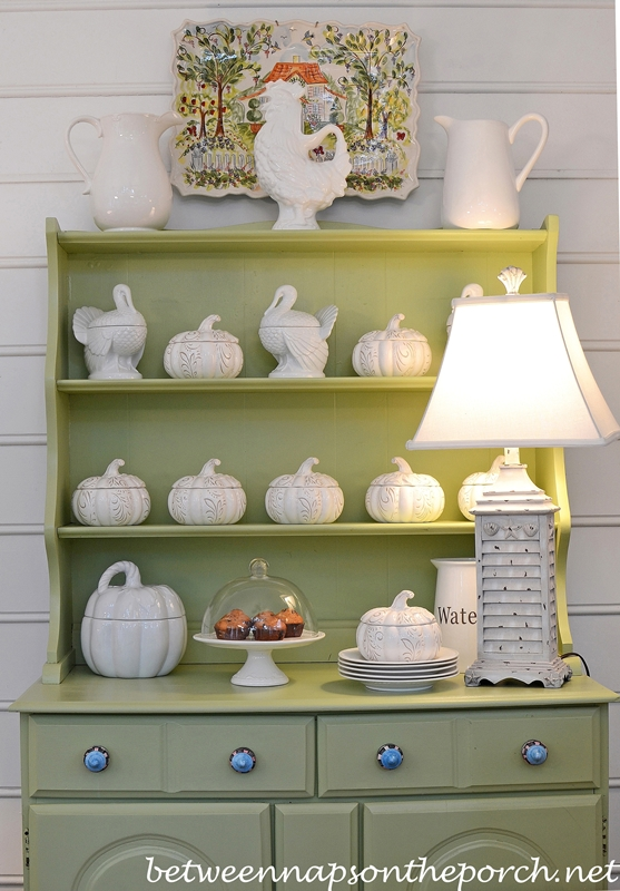Decorate for Fall in White