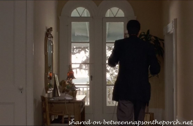 Doors Leading to Upstairs Porch in Movie, The Big Chill