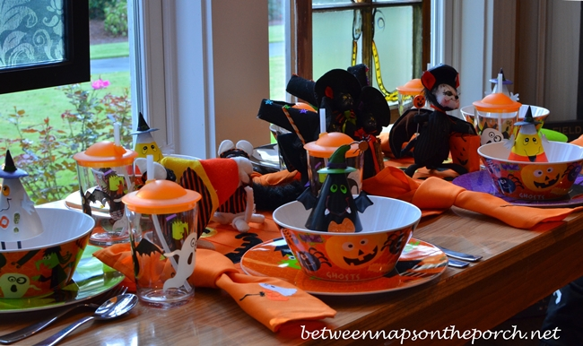 Halloween Tablescape for Children_wm