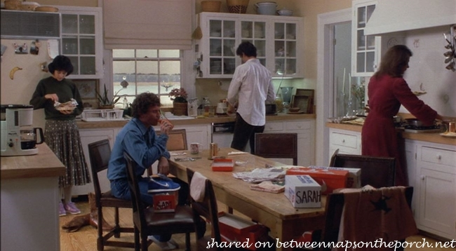 Kitchen in the Movie, The Big Chill 10
