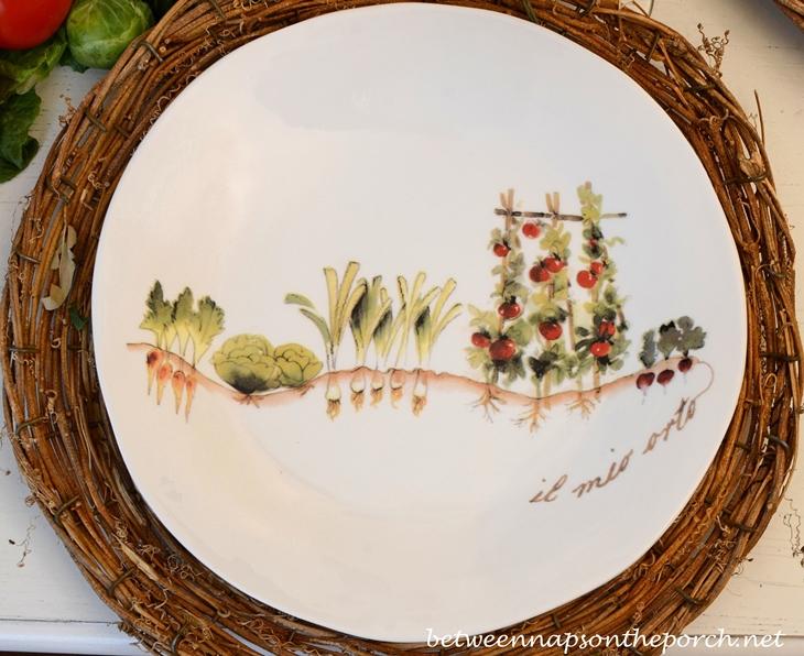 My Garden Dishware Opificio Etico Ceramiche Made in Italy