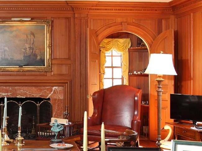 Paneled Library