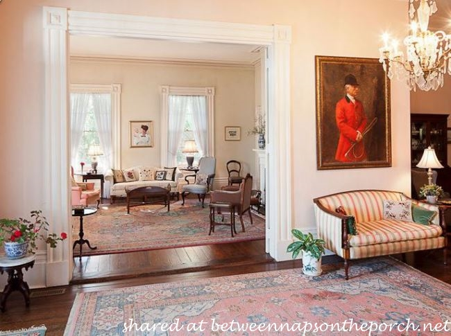 Parlor or Living Room in the movie, The Big Chill_wm