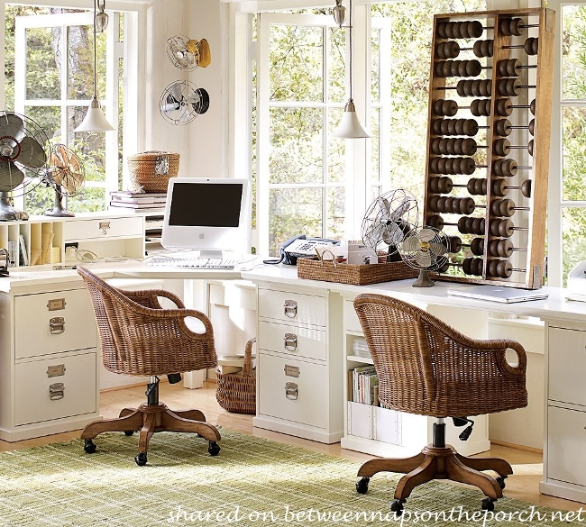 pottery barn bedford office furniture layout and design ideas 01 - Pottery Barn Design Ideas