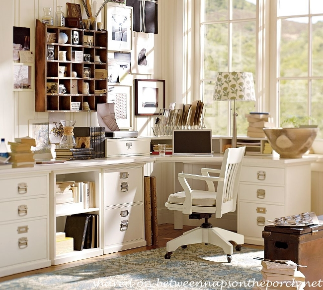 Pottery Barn Bedford Office Furniture Layout and Design Ideas