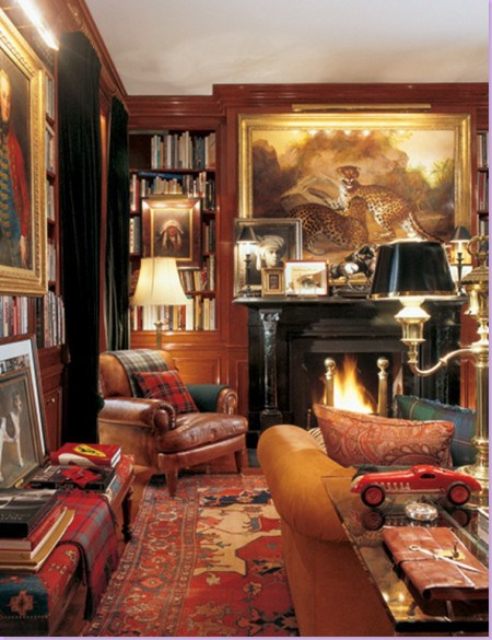 Ralph Lauren Style Decorating For Warm Cozy Retreats