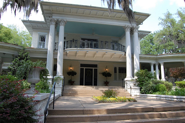 Savannah House with Haint Blue Ceiling