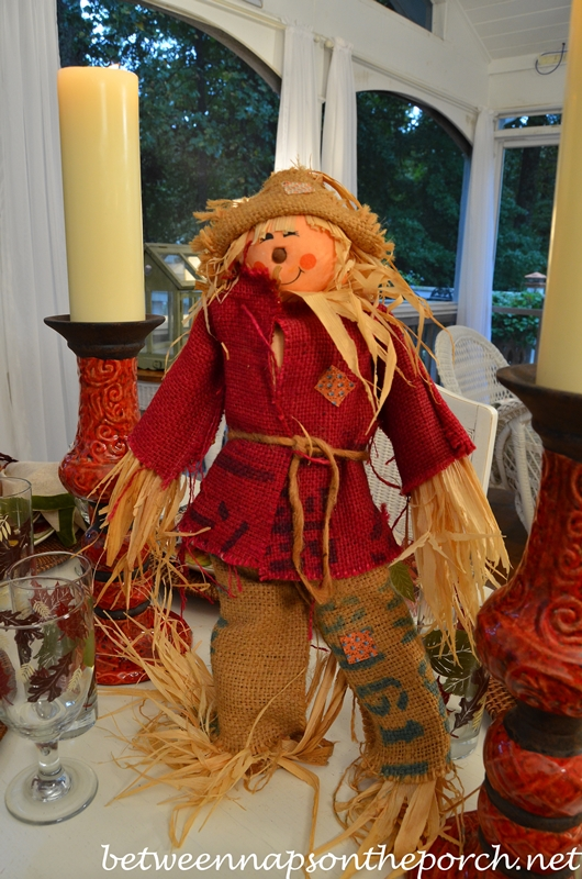 Scarecrow Centerpiece