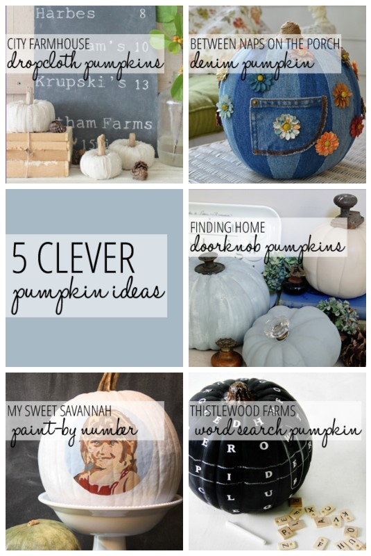 5 Clever Pumpkin Ideas