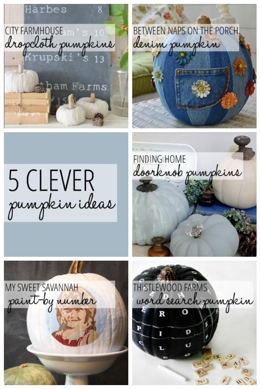 5 Clever Pumpkin Ideas