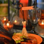 Broomstick Place Cards for Your Halloween Tablescape