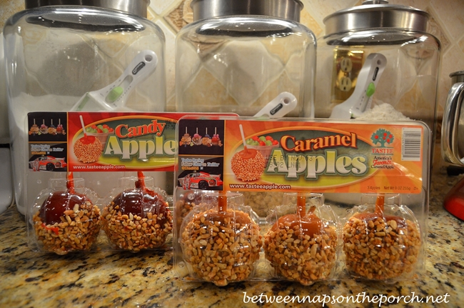 Candy and Caramel Apples