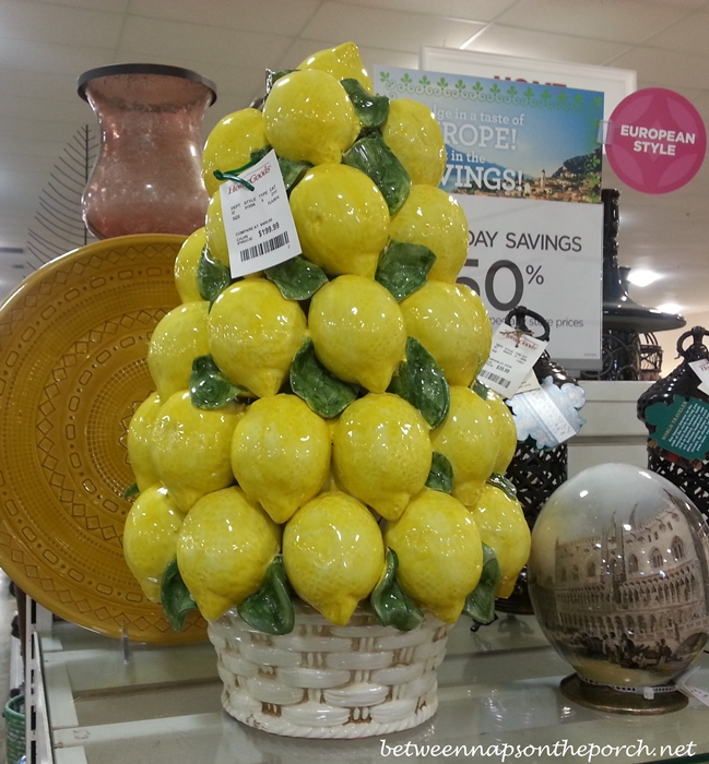 Ceramic Lemon Tree_wm