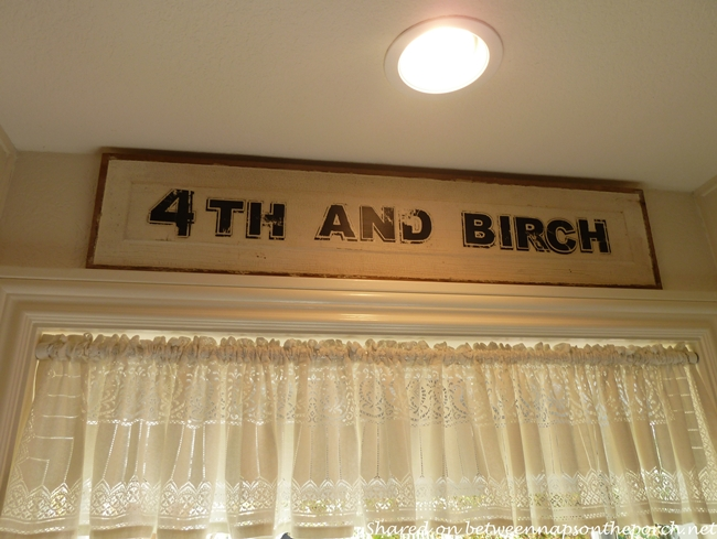 Decorative Sign for Kitchen