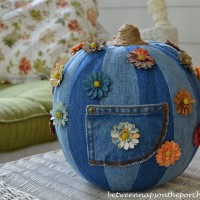 Denim Pumpkin: 5 Creative Ways to Decorate a Pumpkin