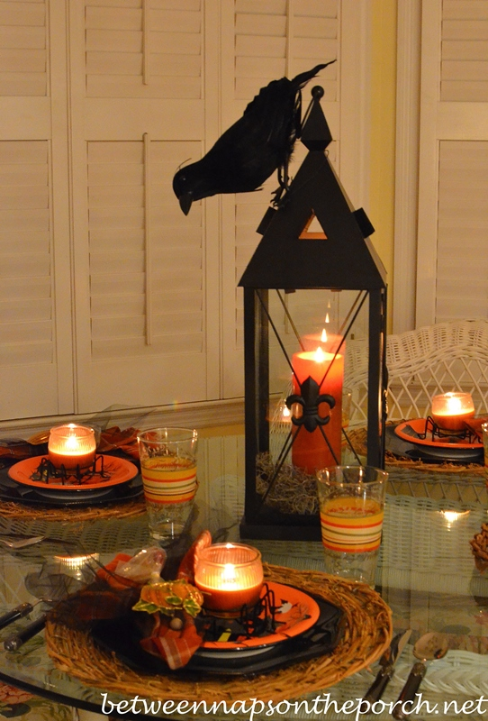 Halloween Table Setting by Candlelight 2_wm