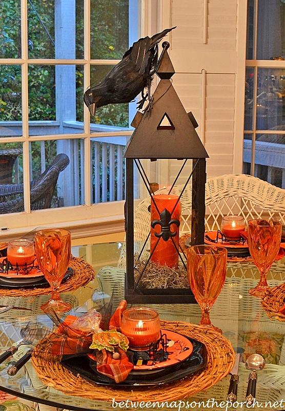 Halloween Table Settings