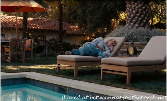 It's Complicated Movie House Pool with Grass