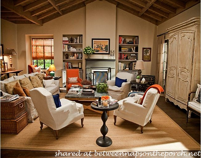 Living Room in It's Complicated Movie