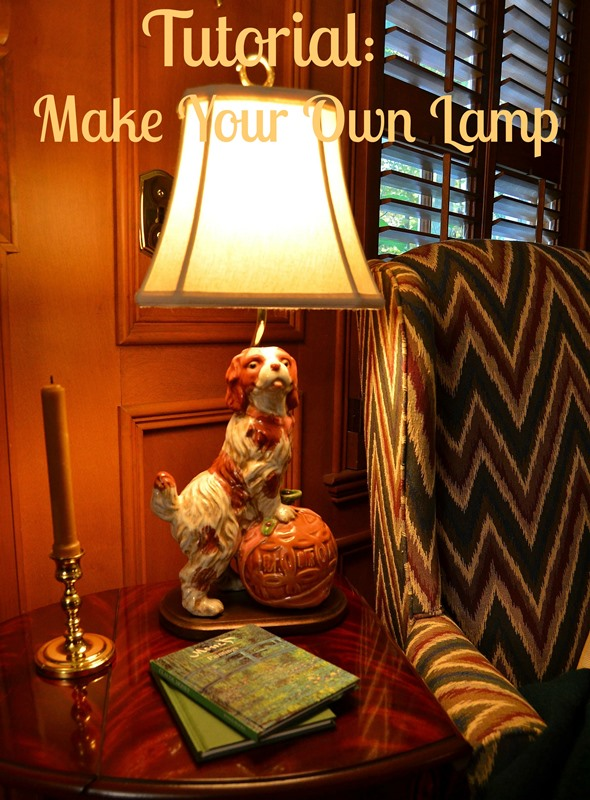 Make a Lamp from a Figurine