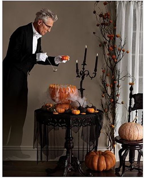 Martha Stewart---Love the candelabra