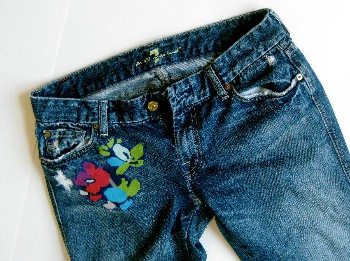 Reparing that favorite pair of jeans