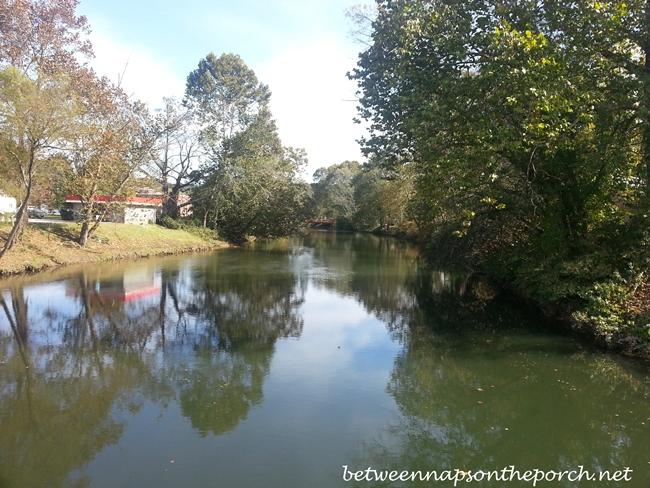 River in Blue Ridge Georgia