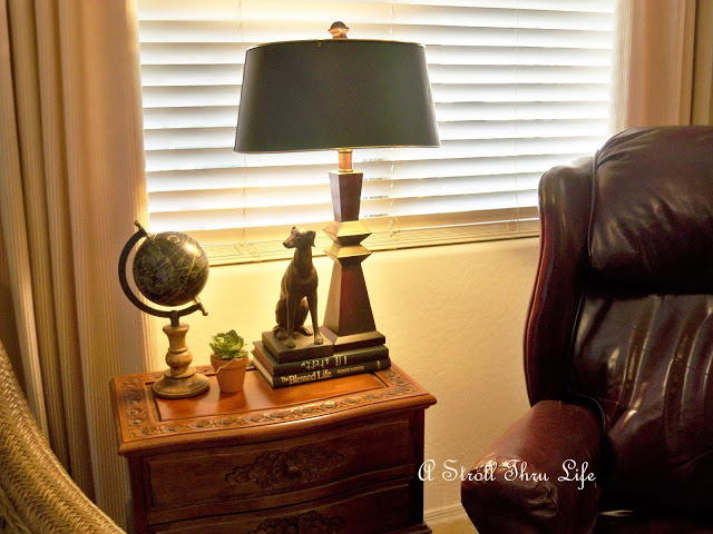 Update a Lamp and Give It a New Look with a New Lamp Shade