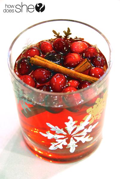Cranberry Christmas Cider