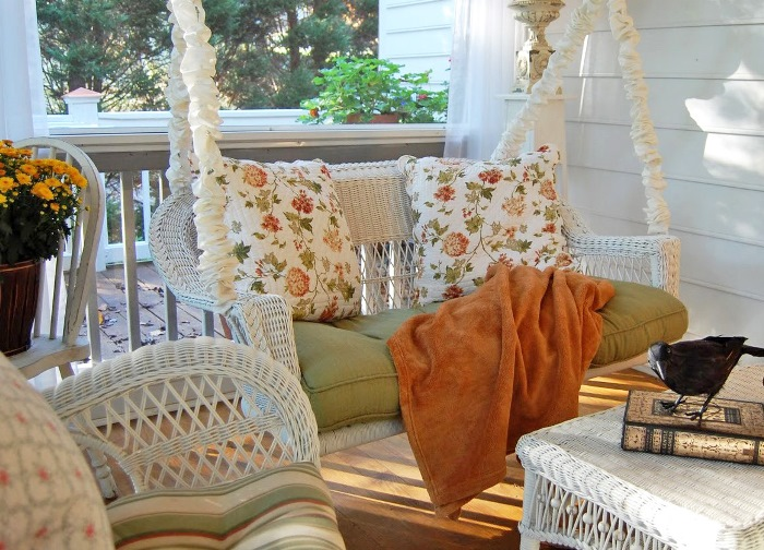 Fall & Winter Porch