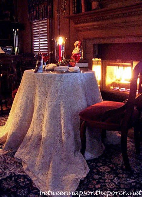Fireside Romantic Dinner for Two