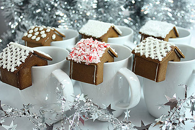 Gingerbread House for Cup or Mug