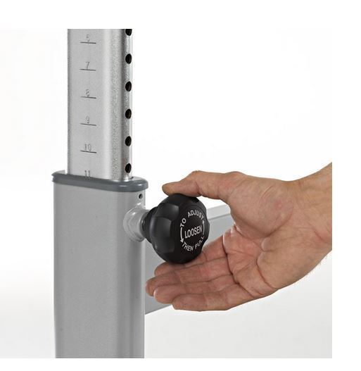 Height Adjustment for Treadmill Desk