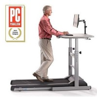 The Treadmill Desk: Burn Calories While Working and Surfing the Web
