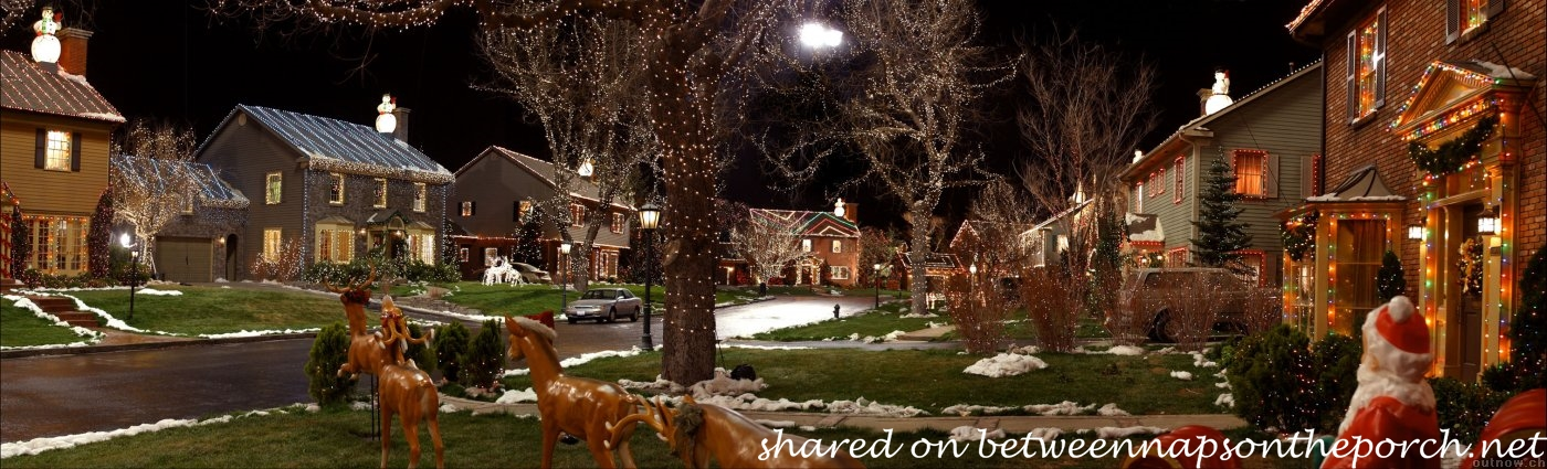 The Christmas Movie-House Tacky Light Tour – Between Naps on the Porch