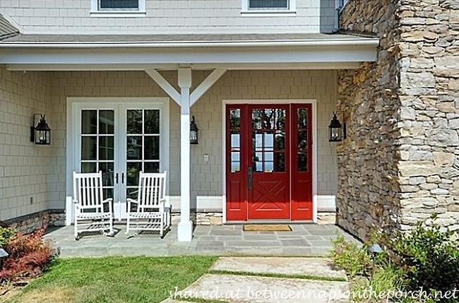 Red Front Door on Howie Mandel's Home_wm